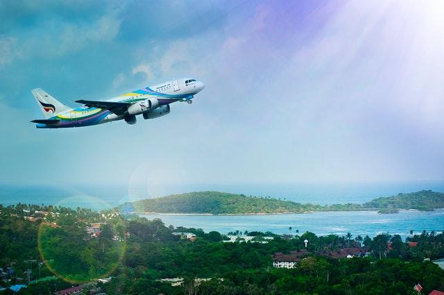 Letadlo v letu