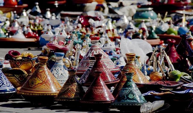 barevná keramika