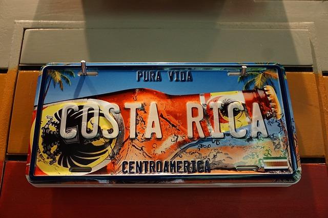 štít kostarika
