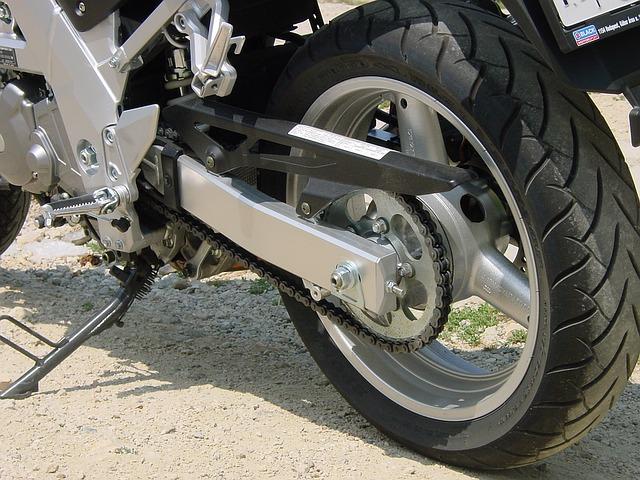 řetěz na motorku