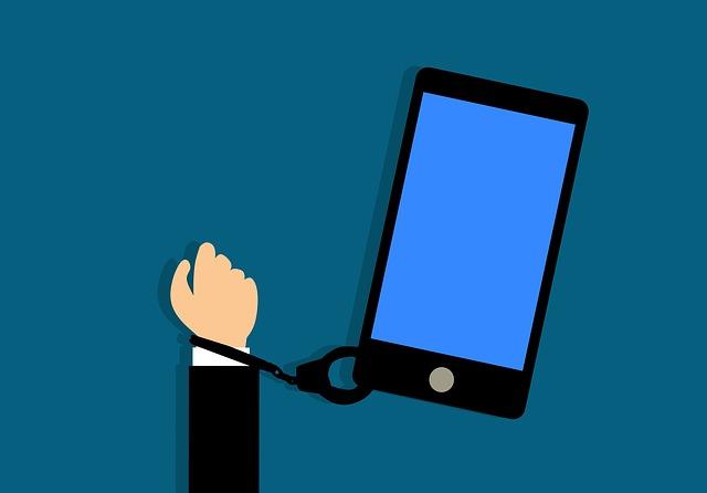 Závislost smartphone
